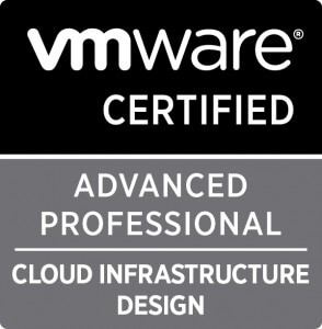 VMware Certified Advanced Professional – Cloud Infrastructure Design